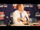 Video & Quotes: John Beilein reacts to win at Illinois