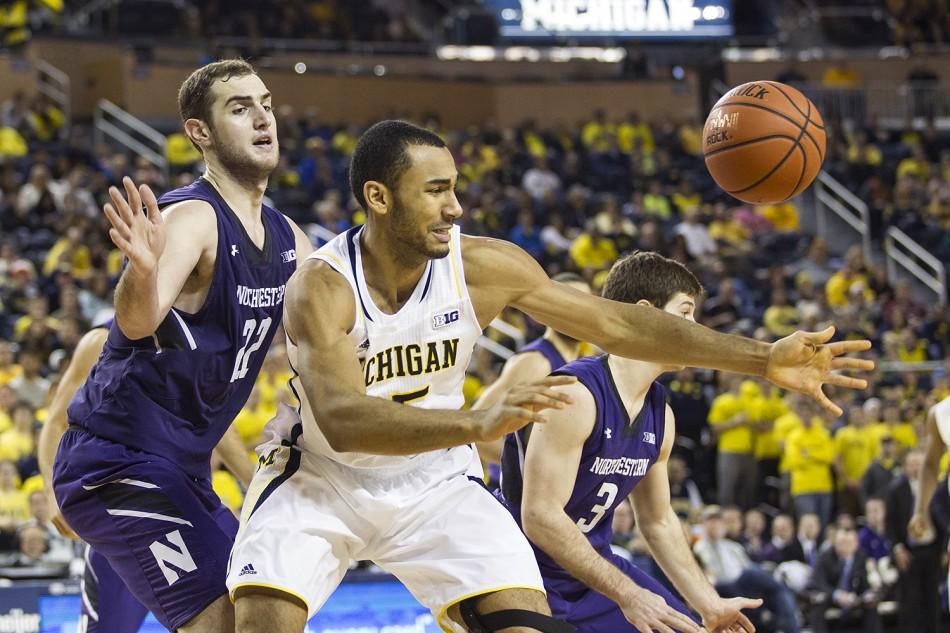 Michigan vs Northwestern_20 — UM Hoops.com