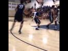 Video: Austin Hatch hits 3-pointer in return to court