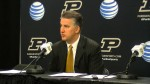 Video: Matt Painter reacts to home loss against Michigan