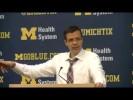 Video: Nebraska coach Tim Miles recaps loss at Michigan