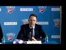 Video: Oklahoma City Thunder introduce Mitch McGary