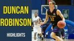Video: Duncan Robinson Freshman Highlights