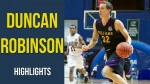 Video: Duncan Robinson Freshman Highlights