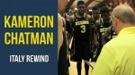 Italy Rewind: Kameron Chatman