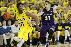 Michigan 56, Northwestern 54-10