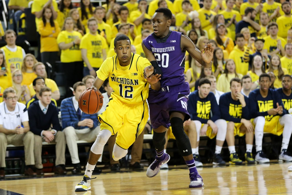 Michigan 56, Northwestern 54-11