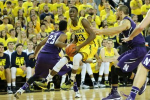 Michigan 56, Northwestern 54-22