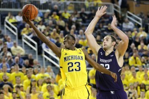 Michigan 56, Northwestern 54-23