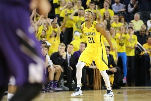 Michigan 56, Northwestern 54-26
