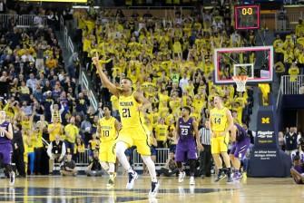 Michigan 56, Northwestern 54-30
