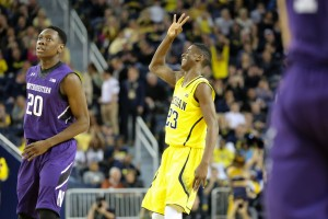 Michigan 56, Northwestern 54-7