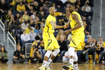 Michigan 56, Northwestern 54-8