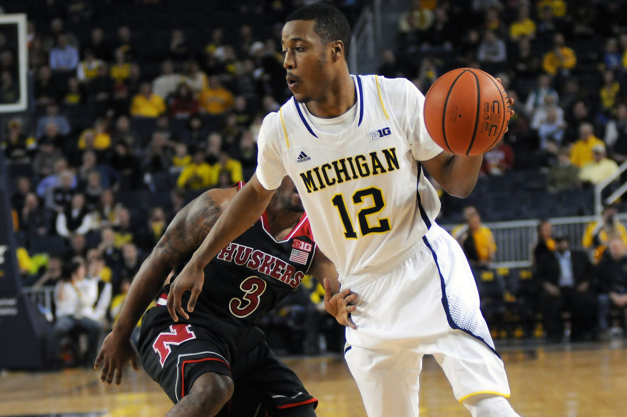 Michigan 58, Nebraska 44 – #12