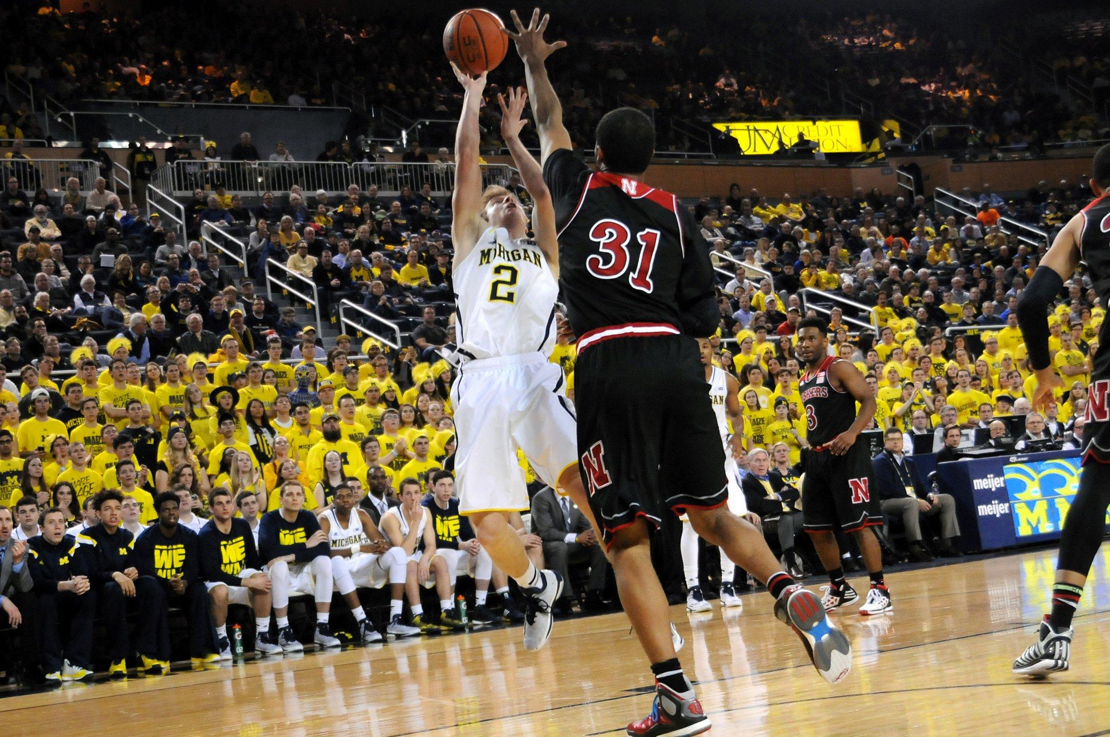 Michigan 58, Nebraska 44 – #18