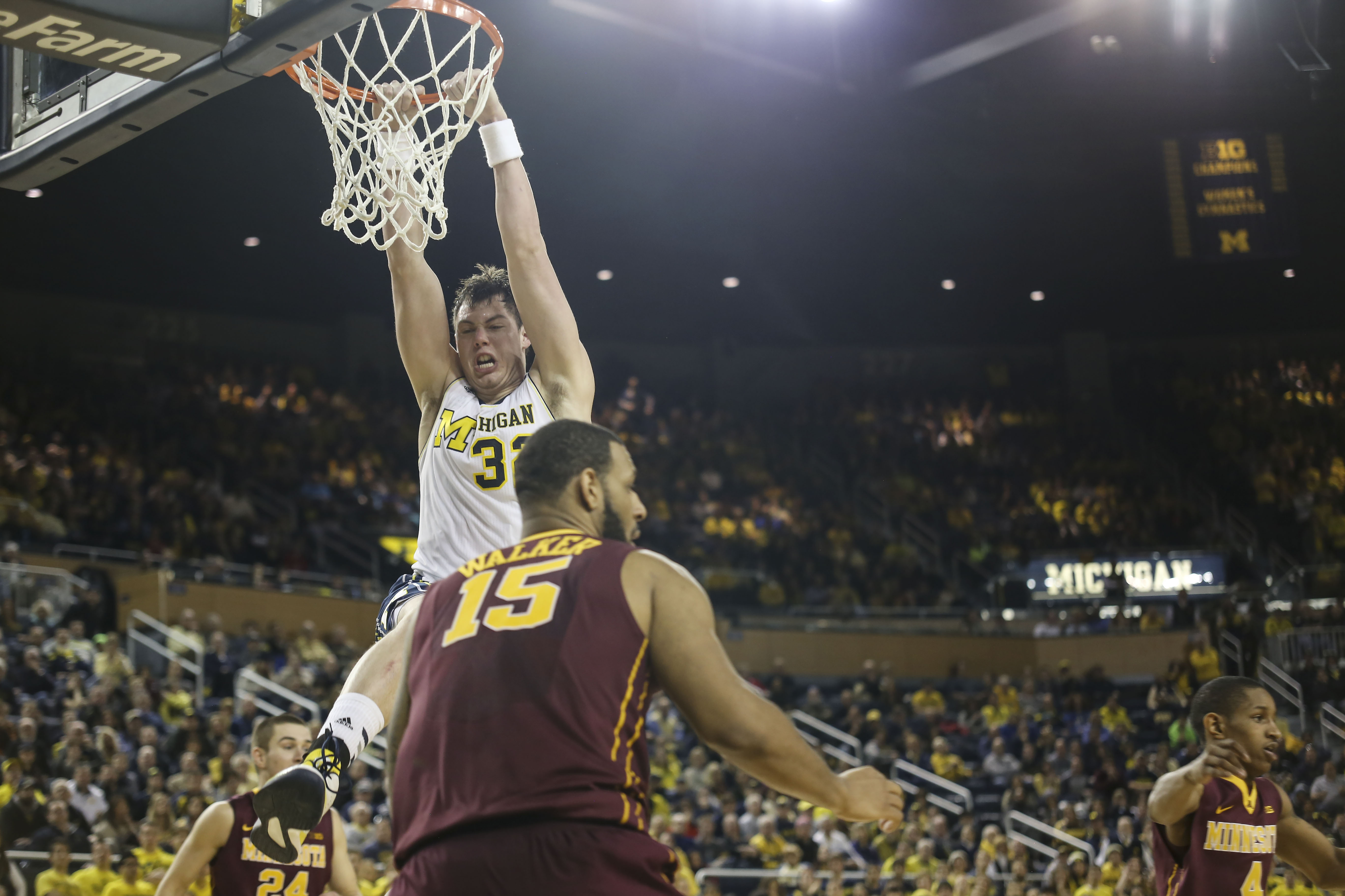 Michigan 62, Minnesota 57 – #23