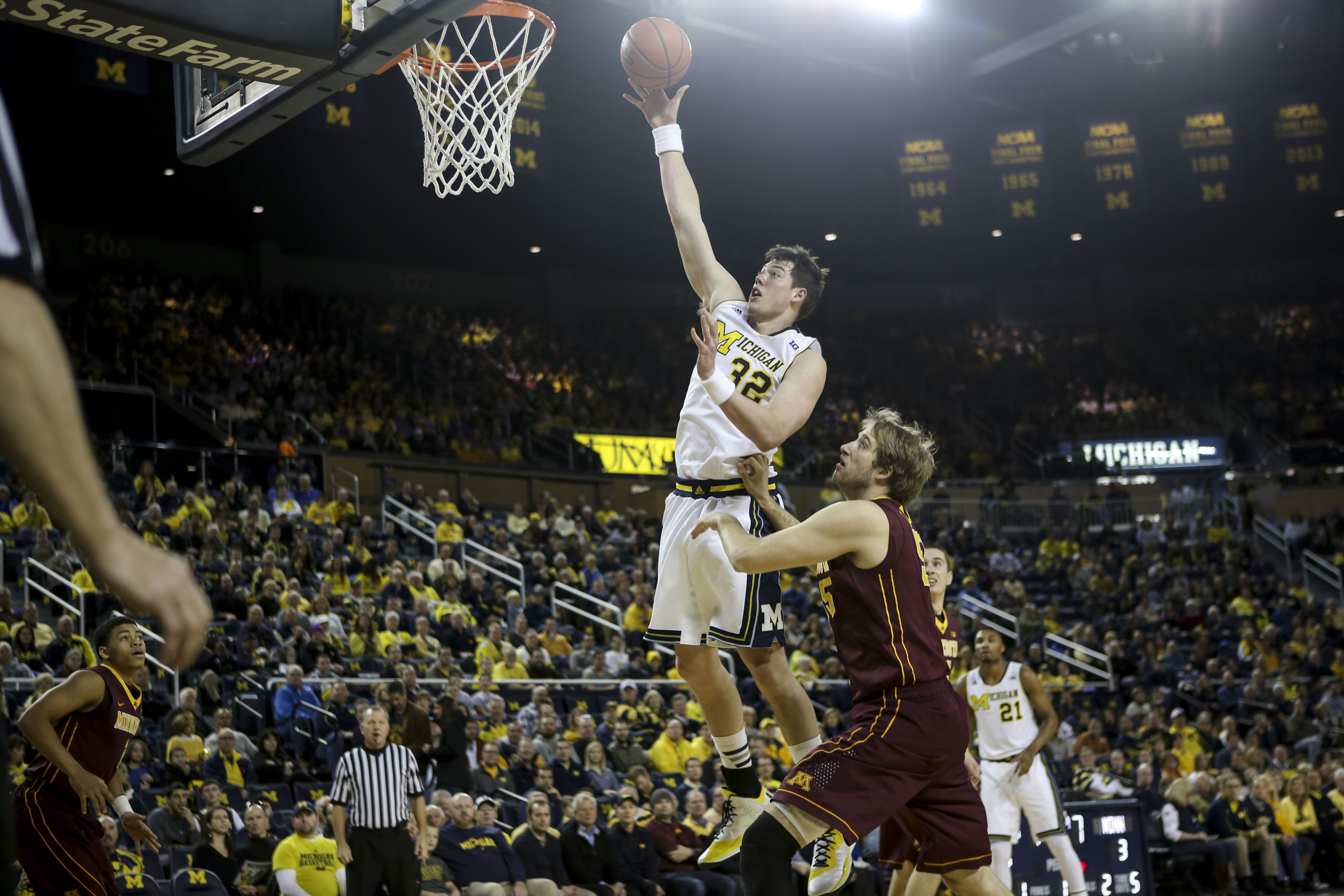 Michigan 62, Minnesota 57 – #5