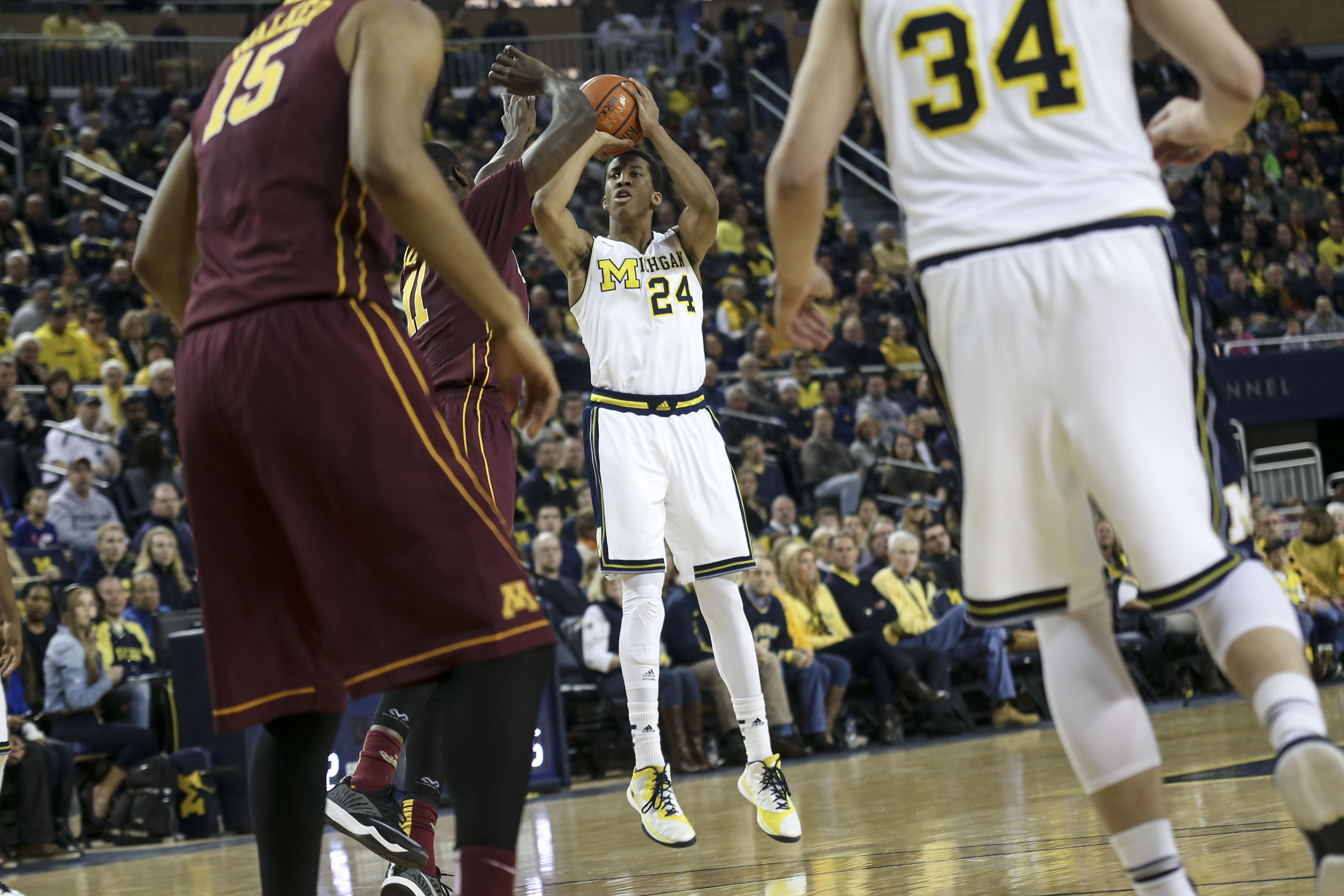 Michigan 62, Minnesota 57 – #7