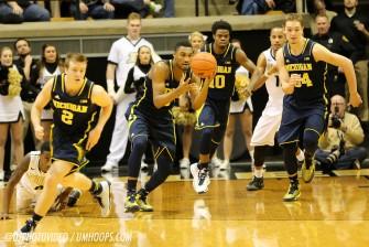 Purdue 64, Michigan 51-20