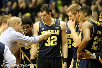 Purdue 64, Michigan 51-25