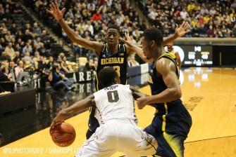 Purdue 64, Michigan 51-28