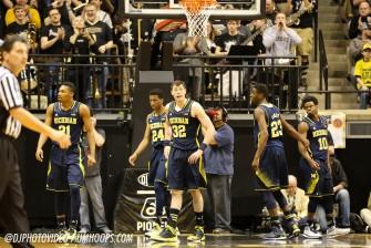 Purdue 64, Michigan 51-6