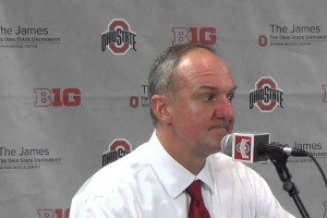 Thad Matta reacts to blowout win over Michigan