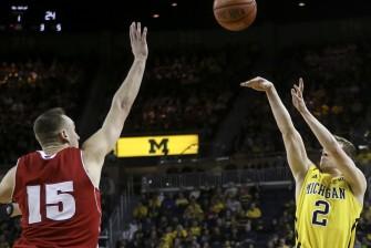 Wisconsin 69, Michigan 64 - #15