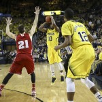 Photo Gallery: Wisconsin 69, Michigan 64