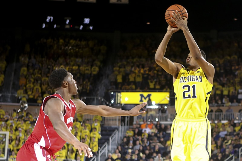 Wisconsin 69, Michigan 64 - #20