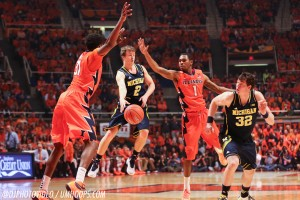 Illinois 64, Michigan 52 (OT) -21