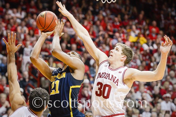Indiana 70, Michigan 67 - #15