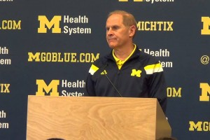 John Beilein previews Maryland, talks LeVert's NBA decision