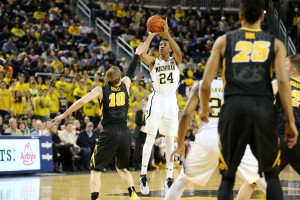 Michigan 54, Iowa 72-21