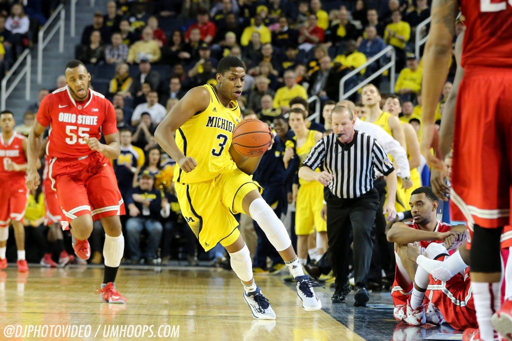 Michigan 64, Ohio State 57-11