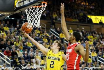 Michigan 64, Ohio State 57-15
