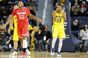 Michigan 64, Ohio State 57-9