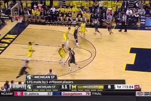 Michigan State 5 Key Plays