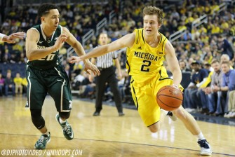 Michigan State 80, Michigan 67-10