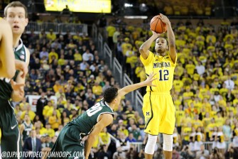 Michigan State 80, Michigan 67-17