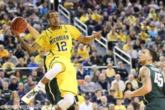 Michigan State 80, Michigan 67-2