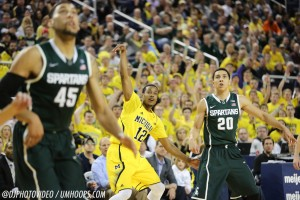 Michigan State 80, Michigan 67-21