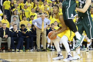Michigan State 80, Michigan 67-28