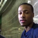 Video: Spike Albrecht, Muhammad-Ali Abdur-Rahkman discuss big games against Spartans