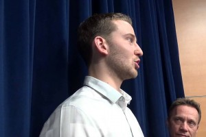 Nik Stauskas talks return to Crisler, year in NBA