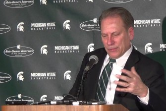 Tom Izzo discusses rivalry win over Michigan