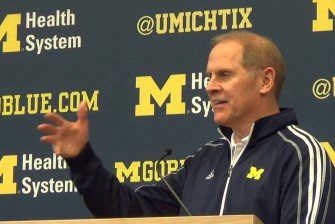 John Beilein previews Rutgers, Senior Night