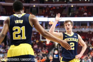 Michigan 73, Illinois 55-11