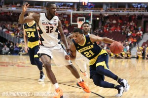 Michigan 73, Illinois 55-13
