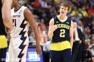 Michigan 73, Illinois 55-25